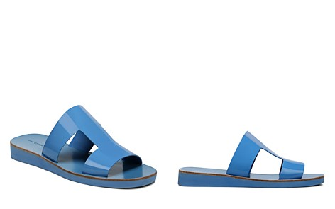 Via Spiga Women's Blanka Patent Leather Slide Sandals - Bloomingdale's_2