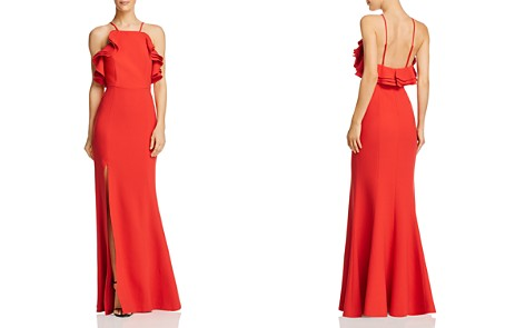 C/MEO Collective Outline Ruffle-Trimmed Crepe Gown - Bloomingdale's_2