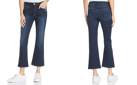 FRAME Le Crop Mini Bootcut Jeans in Creek Hill - Bloomingdale's_2