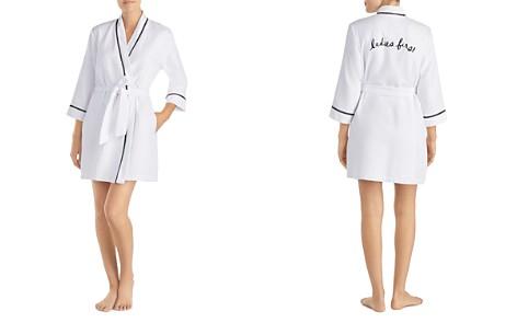 kate spade new york Ladies First Short Robe - Bloomingdale's_2