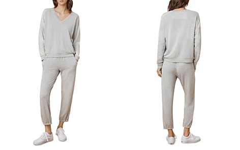 Velvet by Graham & Spencer Thea Cropped Jogger Pants - Bloomingdale's_2