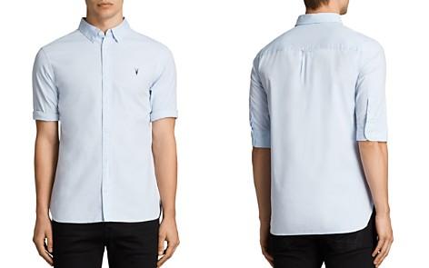 ALLSAINTS Redondo Half Sleeve Slim Fit Button-Down Shirt - Bloomingdale's_2