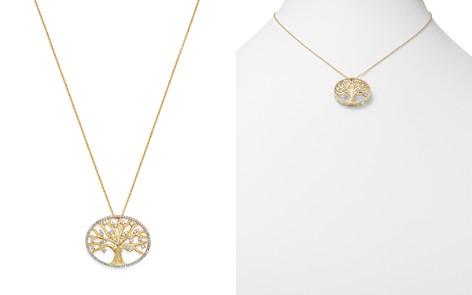 Diamond Pendant Set In 14K Yellow Gold, 0.40 ct. - 100% Exclusive - Bloomingdale's_2