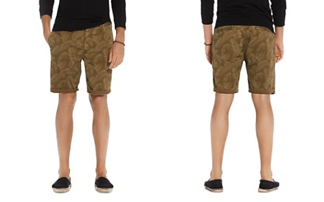 Scotch & Soda Leaf Print Chino Shorts - Bloomingdale's_2