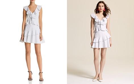 Saylor Striped Ruffle Dress - Bloomingdale's_2