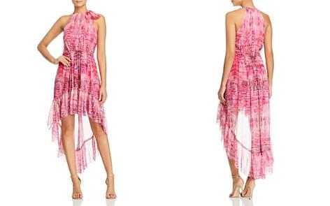 Elie Tahari Primrose Flower Petal-Print Silk Dress - Bloomingdale's_2