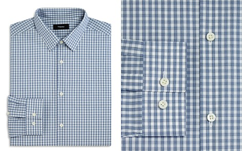 Theory Check Slim Fit Dress Shirt - Bloomingdale's_2