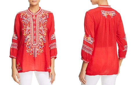 Johnny Was Bethanie Embroidered Tunic - Bloomingdale's_2