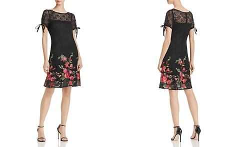 Betsey Johnson Embroidered Lace Dress - Bloomingdale's_2