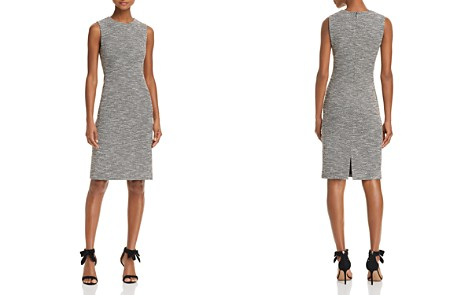 Theory Eano Tweed Dress - Bloomingdale's_2