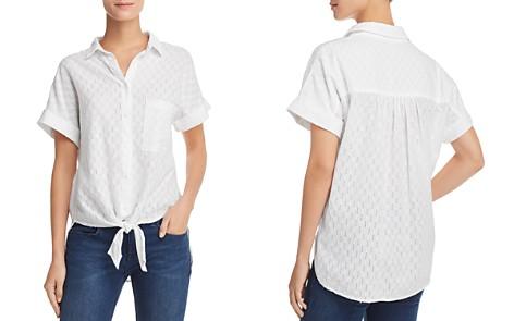 Bella Dahl Eyelet-Stripe Shirt - Bloomingdale's_2