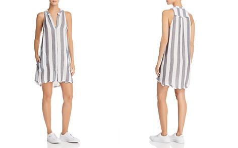 Bella Dahl Frayed Striped Shirt Dress - Bloomingdale's_2