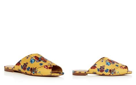 Rebecca Minkoff Women's Anden Floral Crisscross Slide Sandals - Bloomingdale's_2