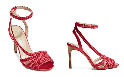 KAREN MILLEN Women's Woven Satin High Heel Sandals - Bloomingdale's_2