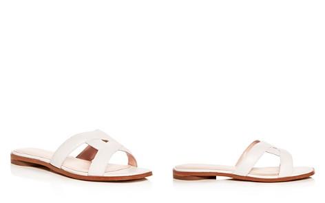Avec Les Filles Women's Blaye Leather Slide Sandals - Bloomingdale's_2