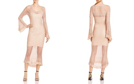 Haute Hippie Maureen Crocheted Midi Dress - Bloomingdale's_2