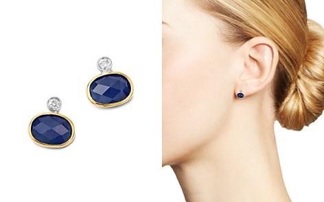 Meira T 14K White & Yellow Gold Sapphire Stud Earrings - Bloomingdale's_2