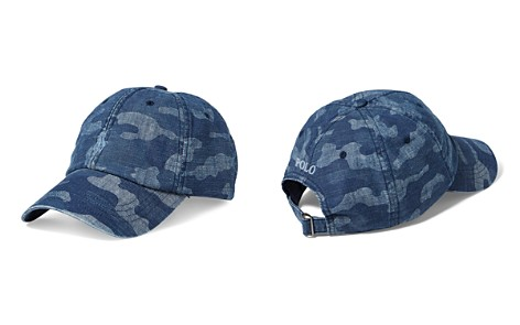 Polo Ralph Lauren Camouflage Chambray Baseball Cap - Bloomingdale's_2