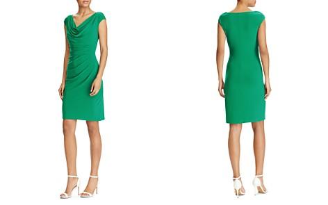 Lauren Ralph Lauren Petites Cowl-Neck Jersey Dress - Bloomingdale's_2