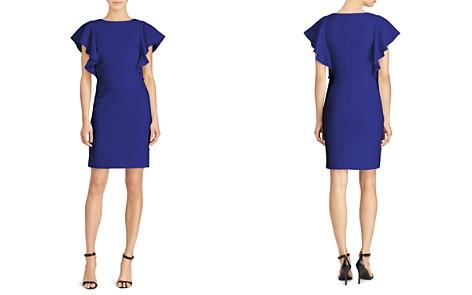 Lauren Ralph Lauren Petites Flutter-Sleeve Dress - Bloomingdale's_2