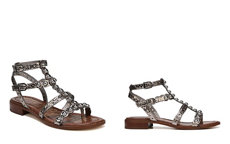 Sam Edelman Women's Elisa Leather Gladiator Sandals - Bloomingdale's_2