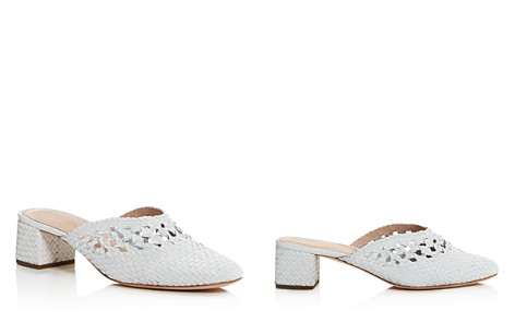 Loeffler Randall Women's Lulu Woven Leather Mules - Bloomingdale's_2