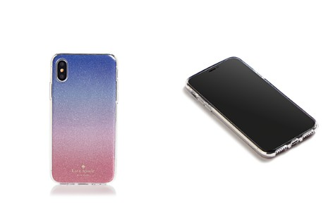 kate spade new york Sunset Ombré Glitter iPhone X Case - Bloomingdale's_2