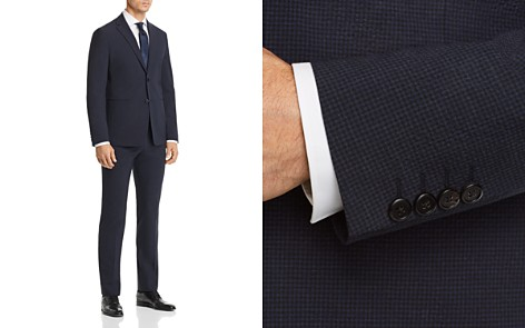 Theory Seersucker Check Cotton Slim Fit Suit Separates - Bloomingdale's_2