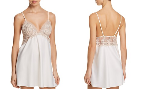 Flora Nikrooz Rosa Charmeuse Chemise - Bloomingdale's_2