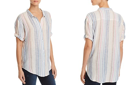 Splendid Striped Boyfriend Shirt - Bloomingdale's_2