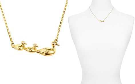 "kate spade new york Duck Pendant Necklace, 16"" - Bloomingdale's_2"