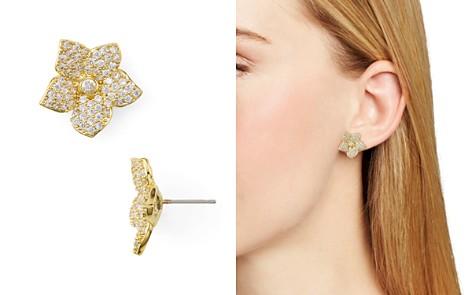 kate spade new york Pave Bloom Stud Earrings - Bloomingdale's_2