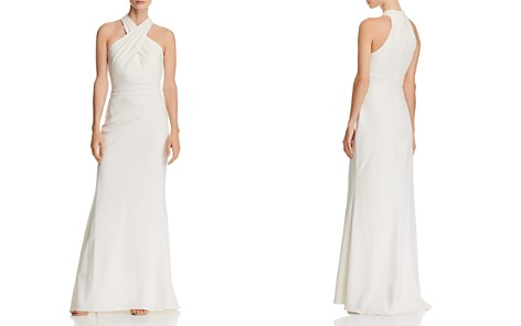 Eliza J Cross-Neck Gown - Bloomingdale's_2