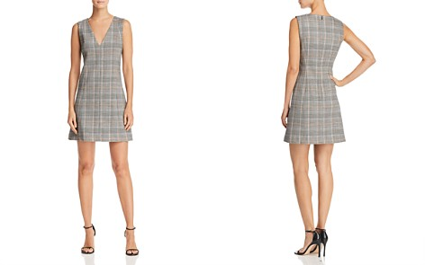 Theory Easy Plaid Dress - Bloomingdale's_2