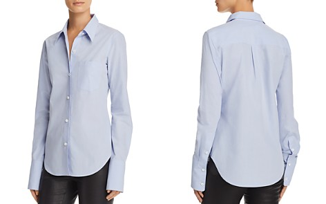 Theory Button Down Shirt - Bloomingdale's_2
