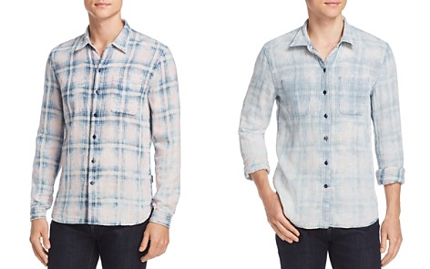 John Varvatos Star USA Double-Faced Reversible Button-Down Shirt - Bloomingdale's_2