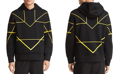 BLACKBARRETT by Neil Barrett Geometric Hooded Sweatshirt - Bloomingdale's_2