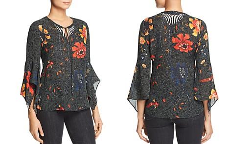 Kobi Halperin Rubie Bell-Sleeve Printed Silk Blouse - Bloomingdale's_2