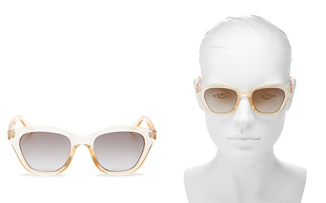 Le Specs Women's Wannabae Flash Mirrored Cat Eye Sunglasses, 49mm - Bloomingdale's_2