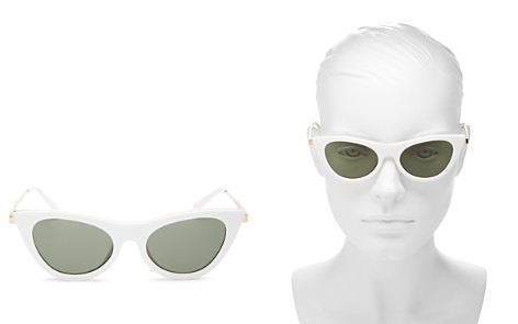 Le Specs Women's Enchantress Cat Eye Sunglasses, 51mm - Bloomingdale's_2