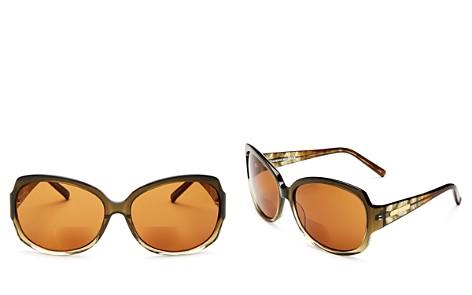 Corinne Mccormack Elizabeth Round Reader Sunglasses, 60mm - Bloomingdale's_2