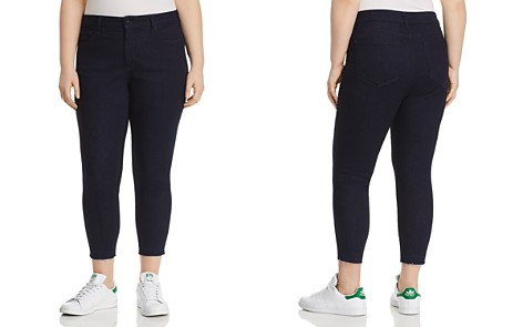 NYDJ Plus Ami Skinny Released-Hem Crop Jeans in Rinse - Bloomingdale's_2