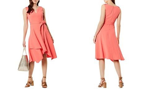 KAREN MILLEN Crossover-Hem Midi Dress - Bloomingdale's_2