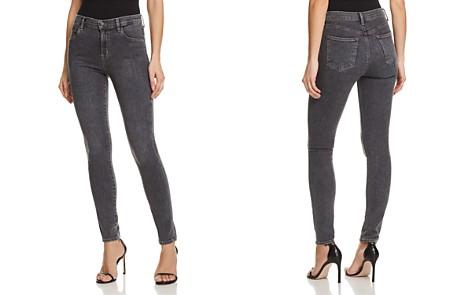 J Brand Maria High Rise Skinny Jeans in Obscura - Bloomingdale's_2