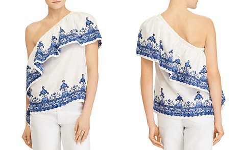 Lauren Ralph Lauren Boho One-Shoulder Top - Bloomingdale's_2