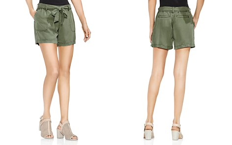 VINCE CAMUTO Twill Belted Shorts - Bloomingdale's_2