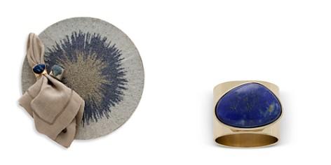 Joanna Buchanan Lapis Gilt Edge Shell Napkin Rings, Set of 2 - Bloomingdale's Registry_2