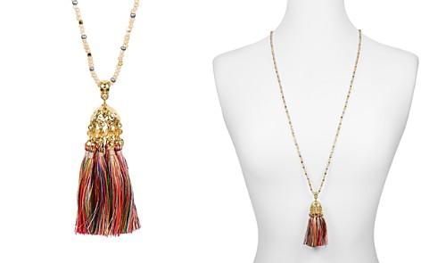 "AQUA Tassel Pendant Necklace, 35"" - 100% Exclusive - Bloomingdale's_2"