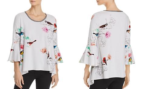 Elie Tahari Sanderson Floral and Fauna Knit Top - Bloomingdale's_2