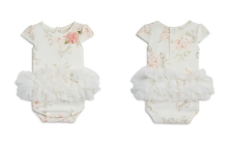 Miniclasix Girls' Floral-Print Tutu Bodysuit - Baby - Bloomingdale's_2